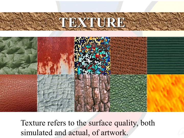 Elements Of Art Texture : Elements principles of art lake oswego literacy