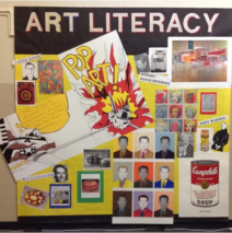 Art empowers students to express themselves.